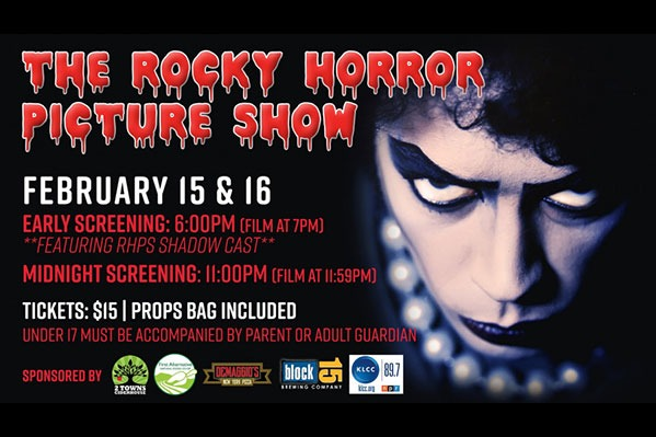 The Rocky Horror Picture Show at the Majestic Theatre in Corvallis, Oregon