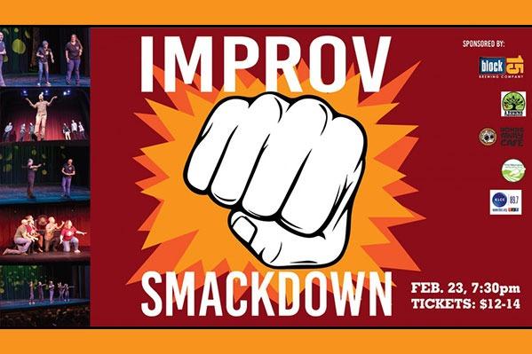 Improv Smackdown at the Majestic Theatre in Corvallis, Oregon