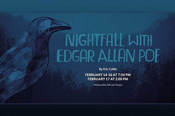 Nightfall With Edgar Allan Poe at the Oregon State University Theatre in Corvallis, Oregon