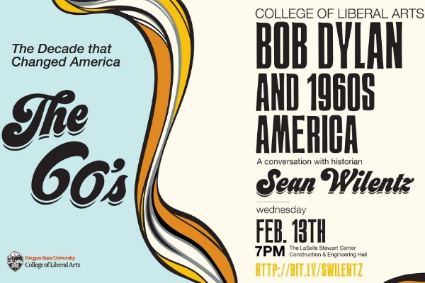 Bob Dylan and 1960's America: A Conversation with Sean Wilentz