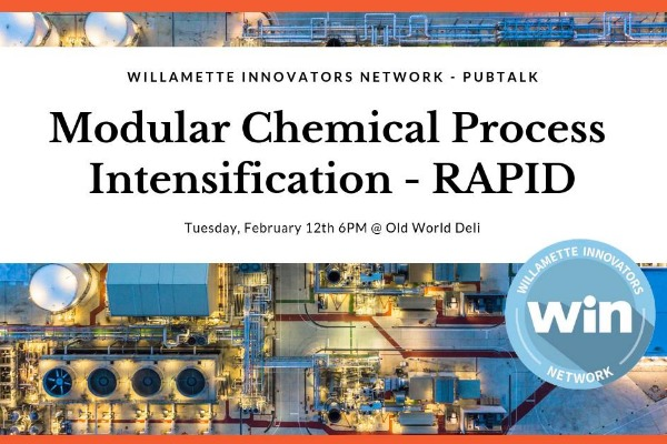 PubTalk: What is Modular Chemical Process Intensification?