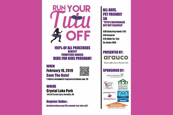 7th Annual Run Your Tutu Off in Corvallis, Oregon