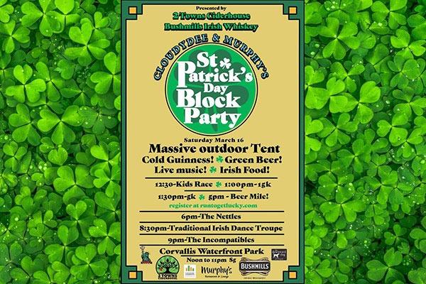 St. Patrick's Day Block Party, Corvallis, Oregon