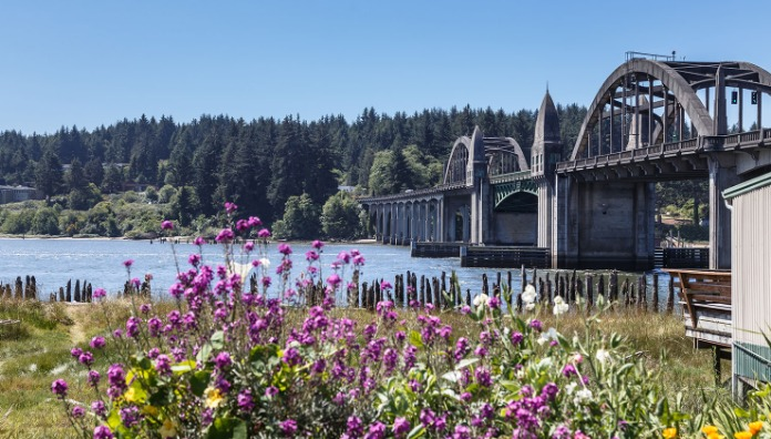 Siuslaw River Bridge, Florence, Oregon