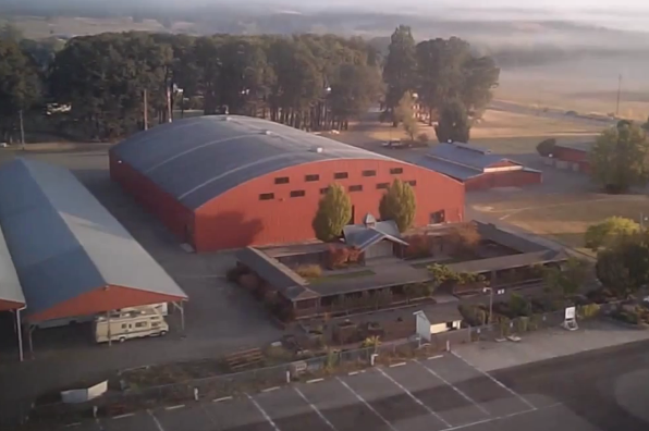 Benton County Event Center and Fairgrounds in Corvallis, Oregon