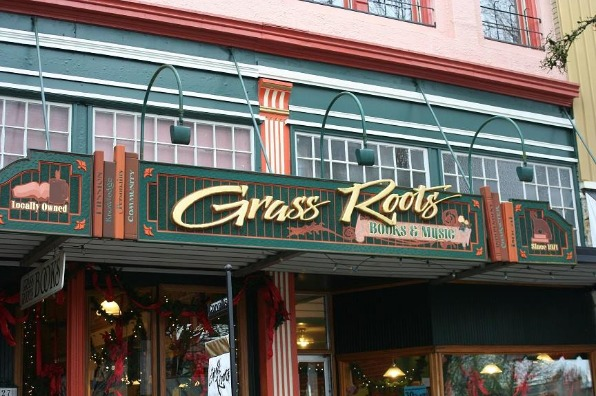Grass Roots Books and Music in Corvallis, Oregon