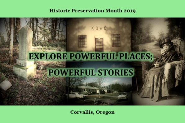 Historic Preservation Month 2019 in Corvallis, Oregon