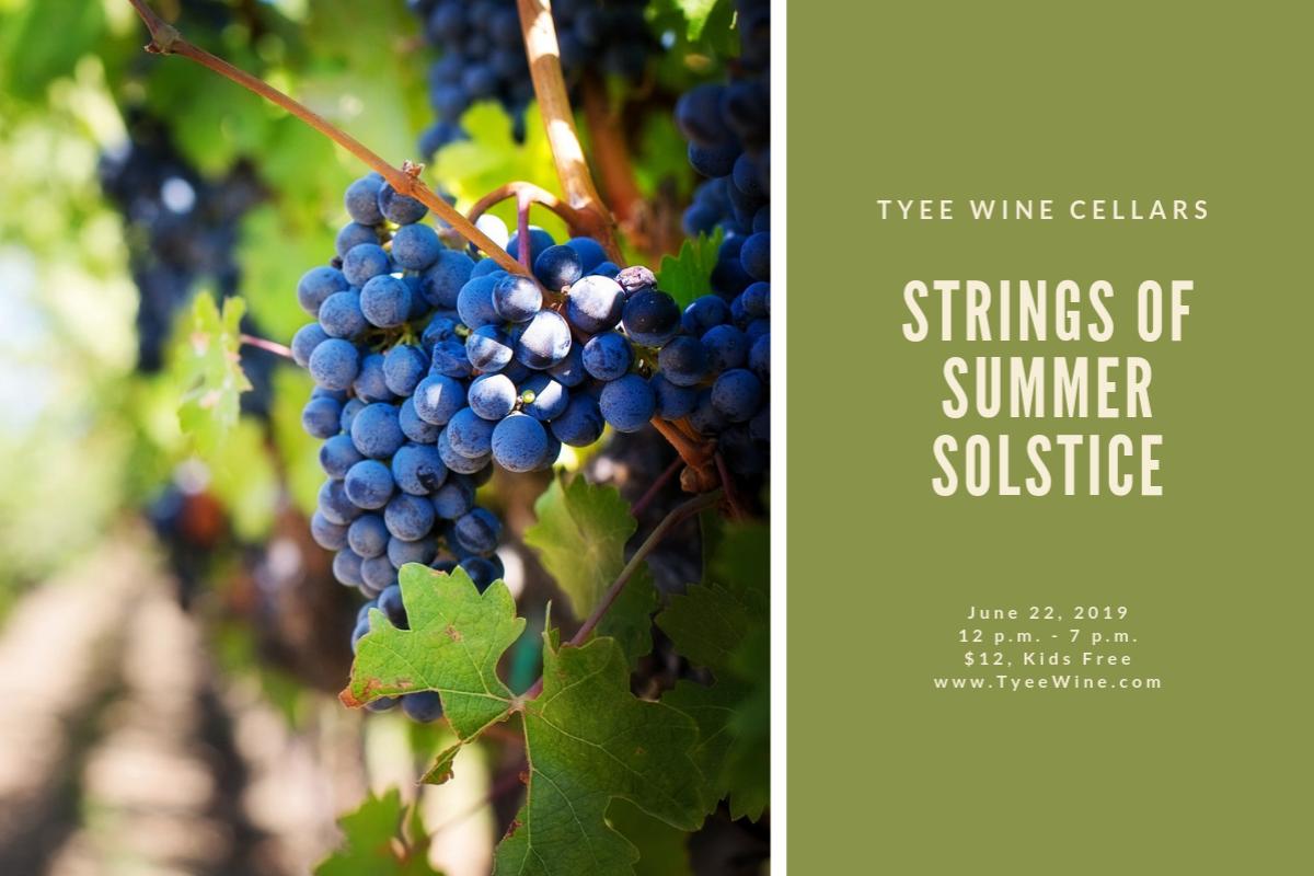 Tyee Wine Cellars Strings of Summer Solstice