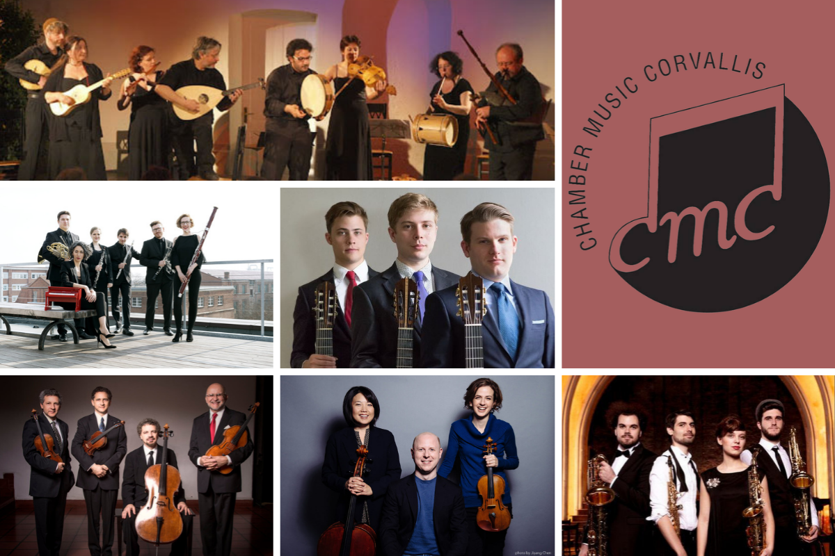 Chamber Music Corvallis - 61st Season - Corvallis, Oregon