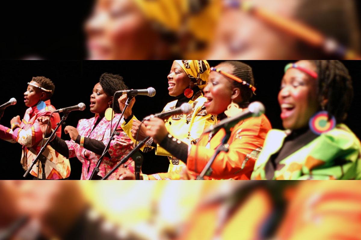 Nobuntu, with OSU's Bella Voce women's choir