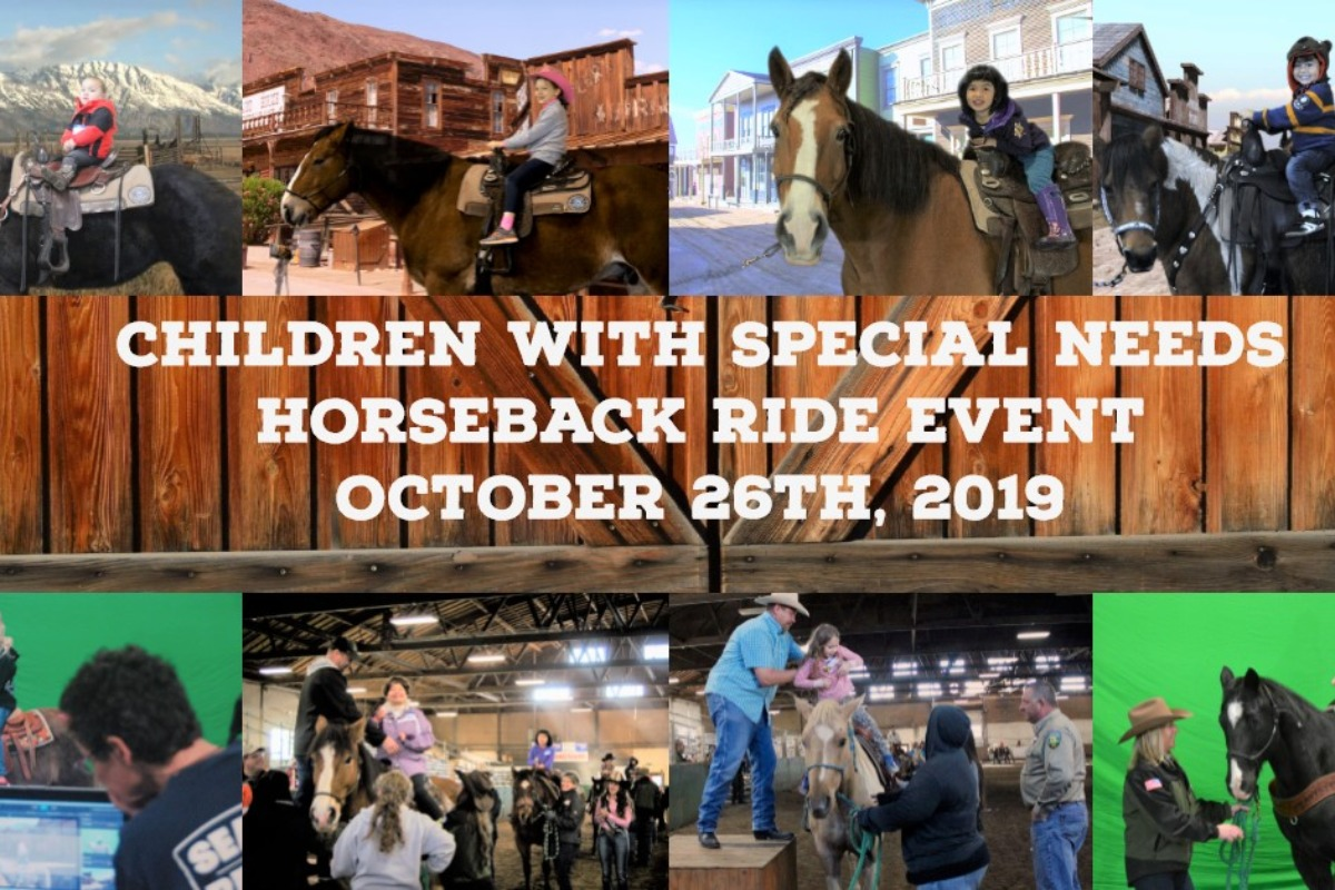 Sheriff's Posse's Annual Children with Special Needs Ride Event