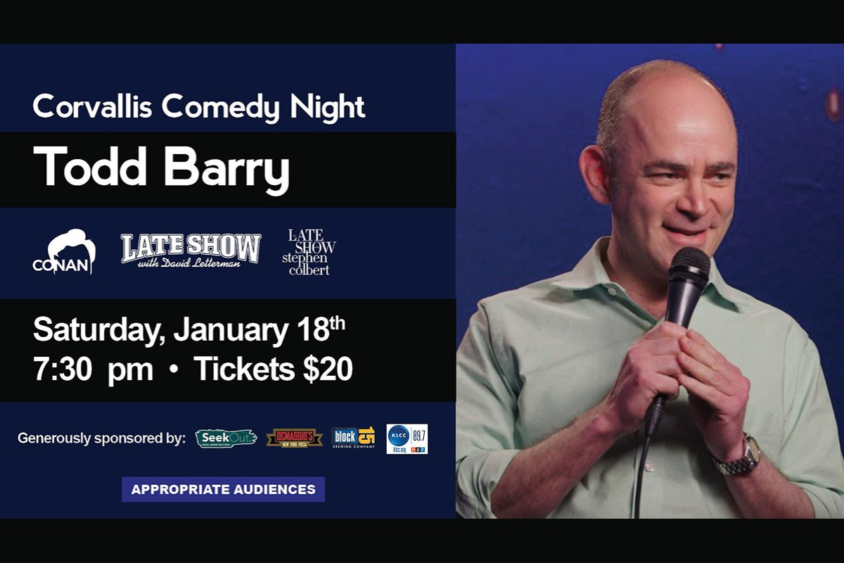 Corvallis Comedy Night: Todd Barry