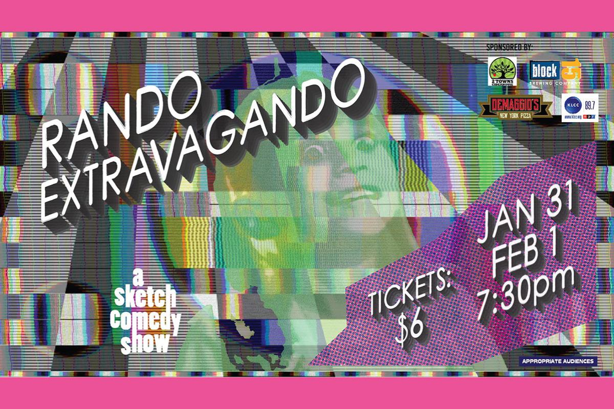 Rando Extravagando at the Majestic Theatre in Corvallis, Oregon