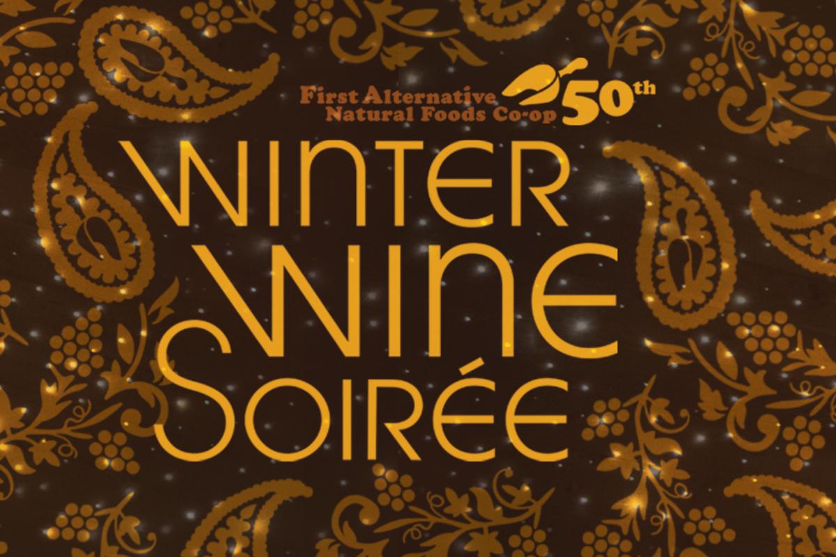 Winter Wine Soirée 2020 - First Alternative Co-op, Corvallis, Oregon