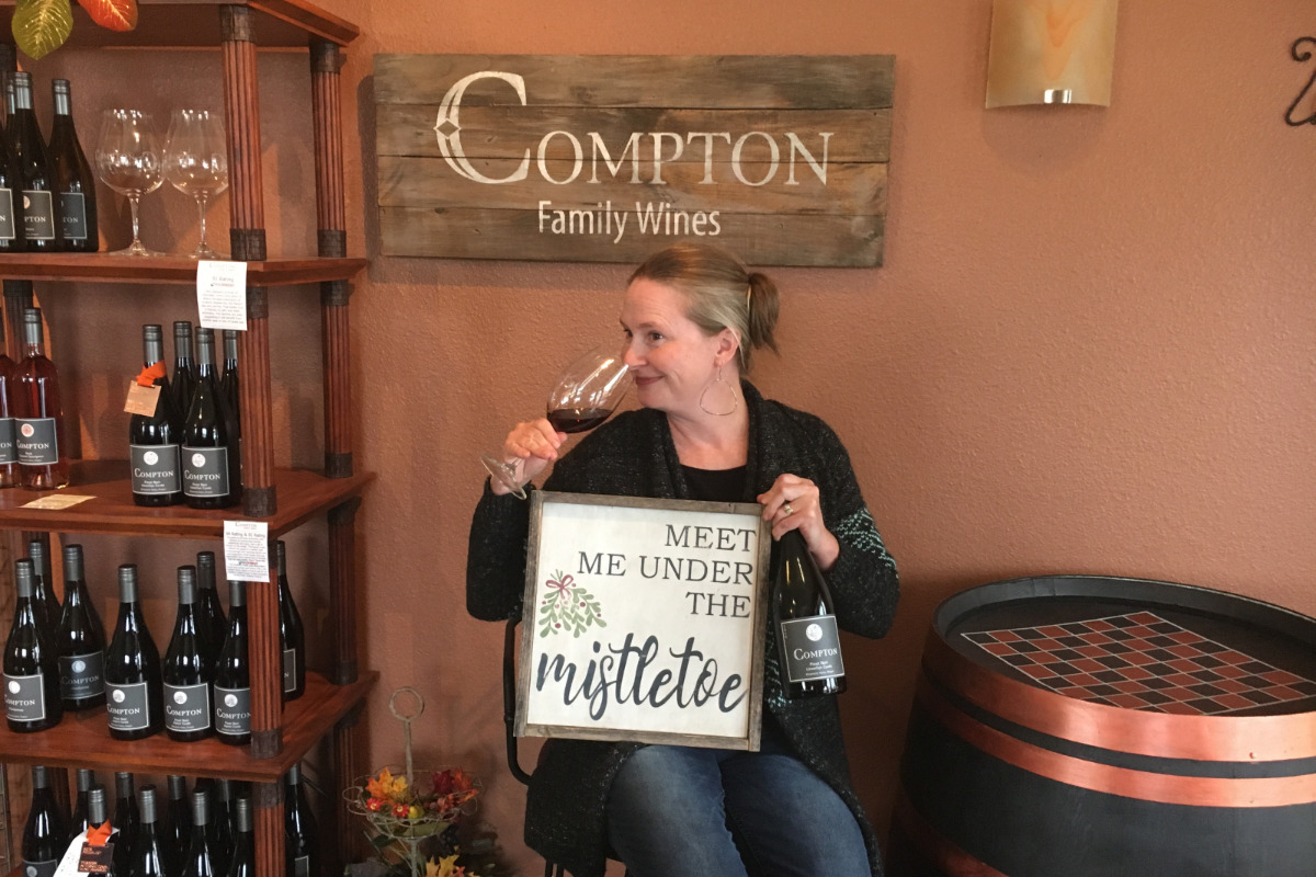 Compton Family Wines Sign Making Class - Wine & Sign Making