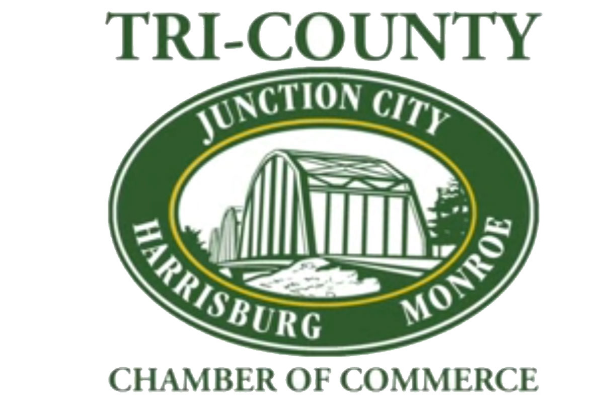 Tri-County Chamber of Commerce, Junction City, Monroe, Harrisburg, Oregon