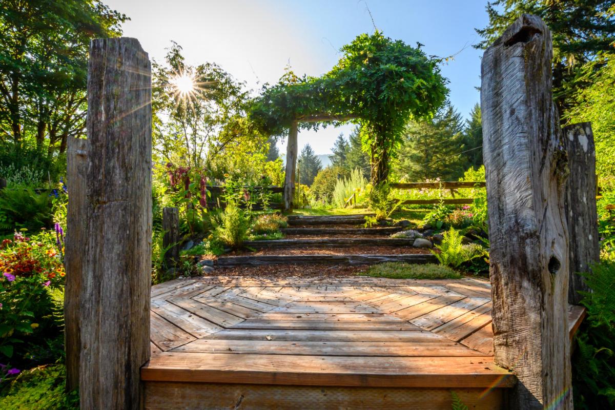 Thyme Garden, Alsea, Oregon