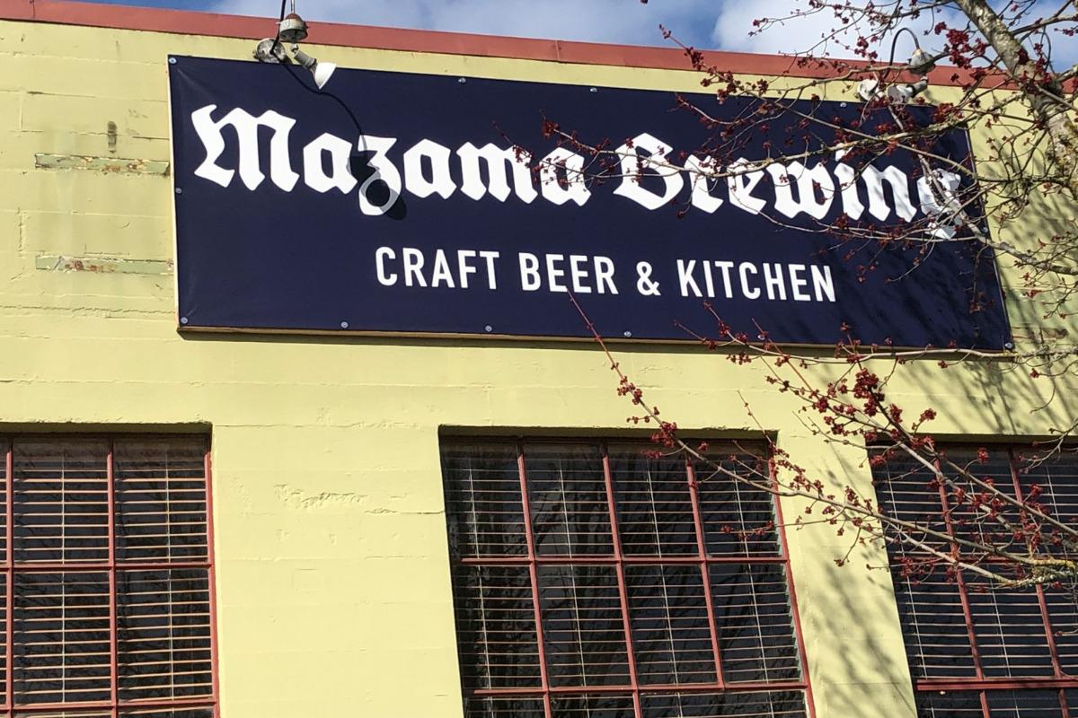 Mazama Brewing Craft Beer & Kitchen in Corvallis, Oregon