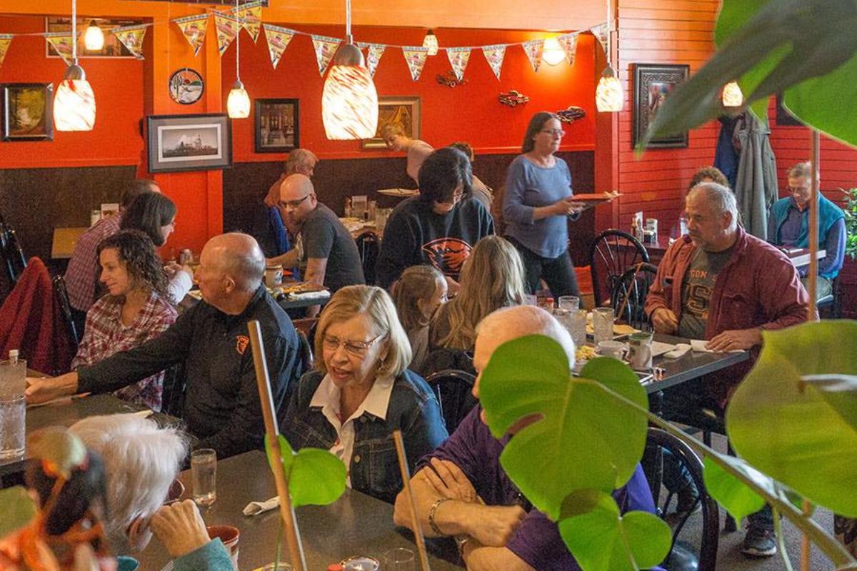 Delicias Valley Café, Corvallis, Oregon