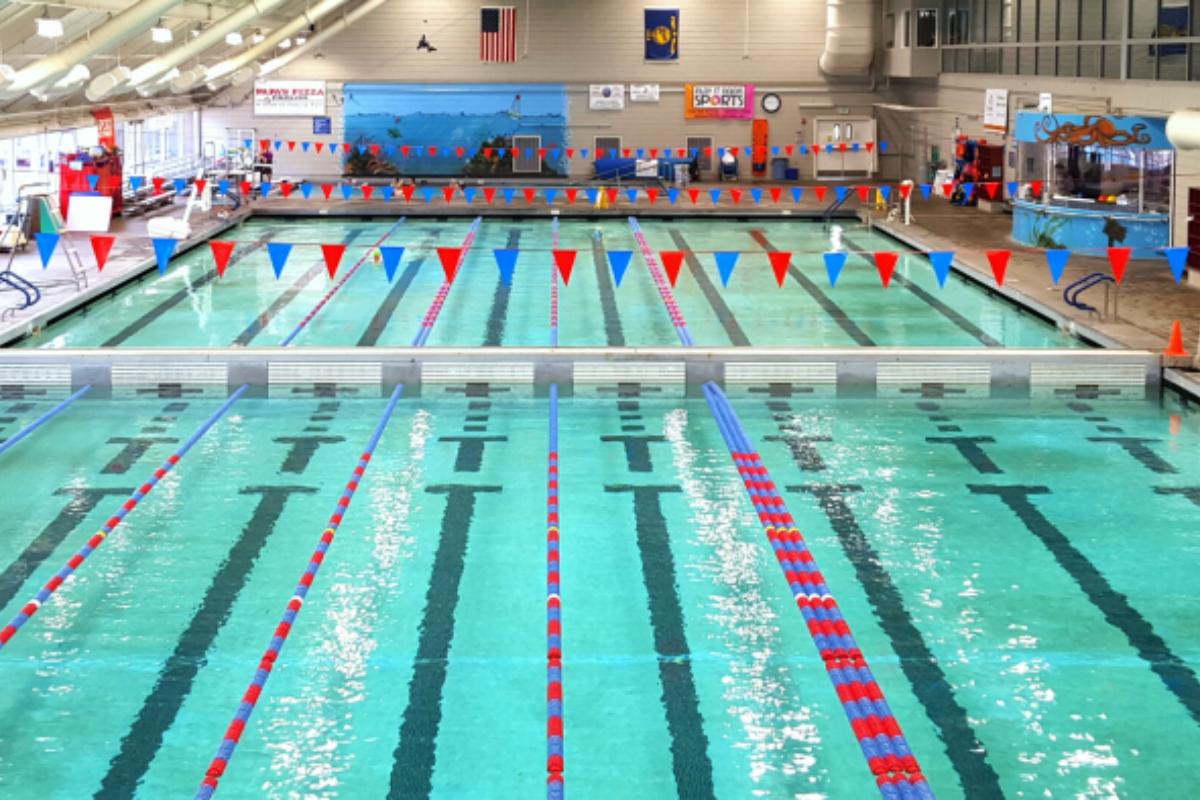Osborn Aquatic Center Olympic-Size 50 Meter Lap Pool