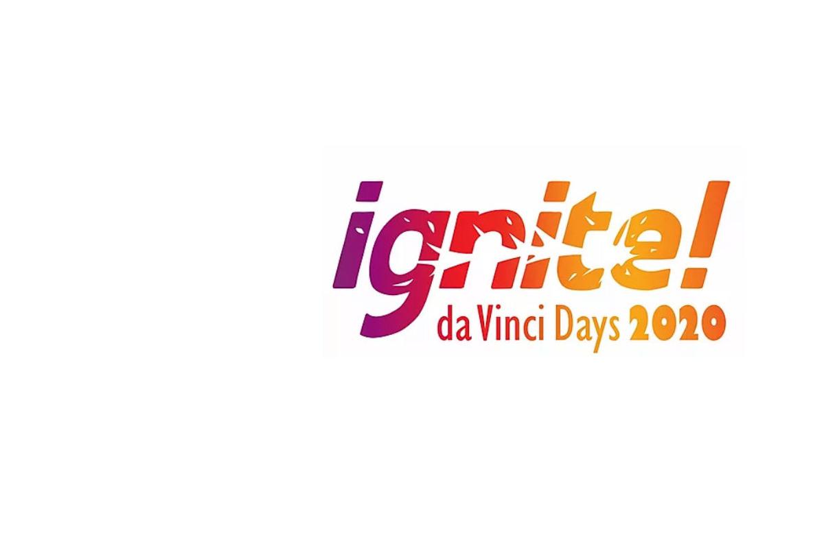 2020 da Vinci Days Festival Logo - Ignite!