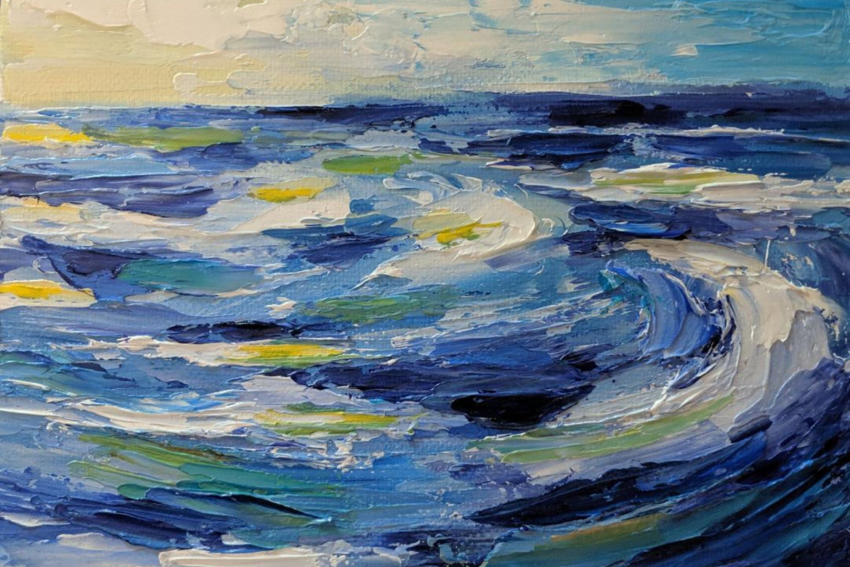 See Katie Dillard: A Fresh Take on Seascapes at the Arts Center in Corvallis, Oregon, Sept. 2-24, 2020