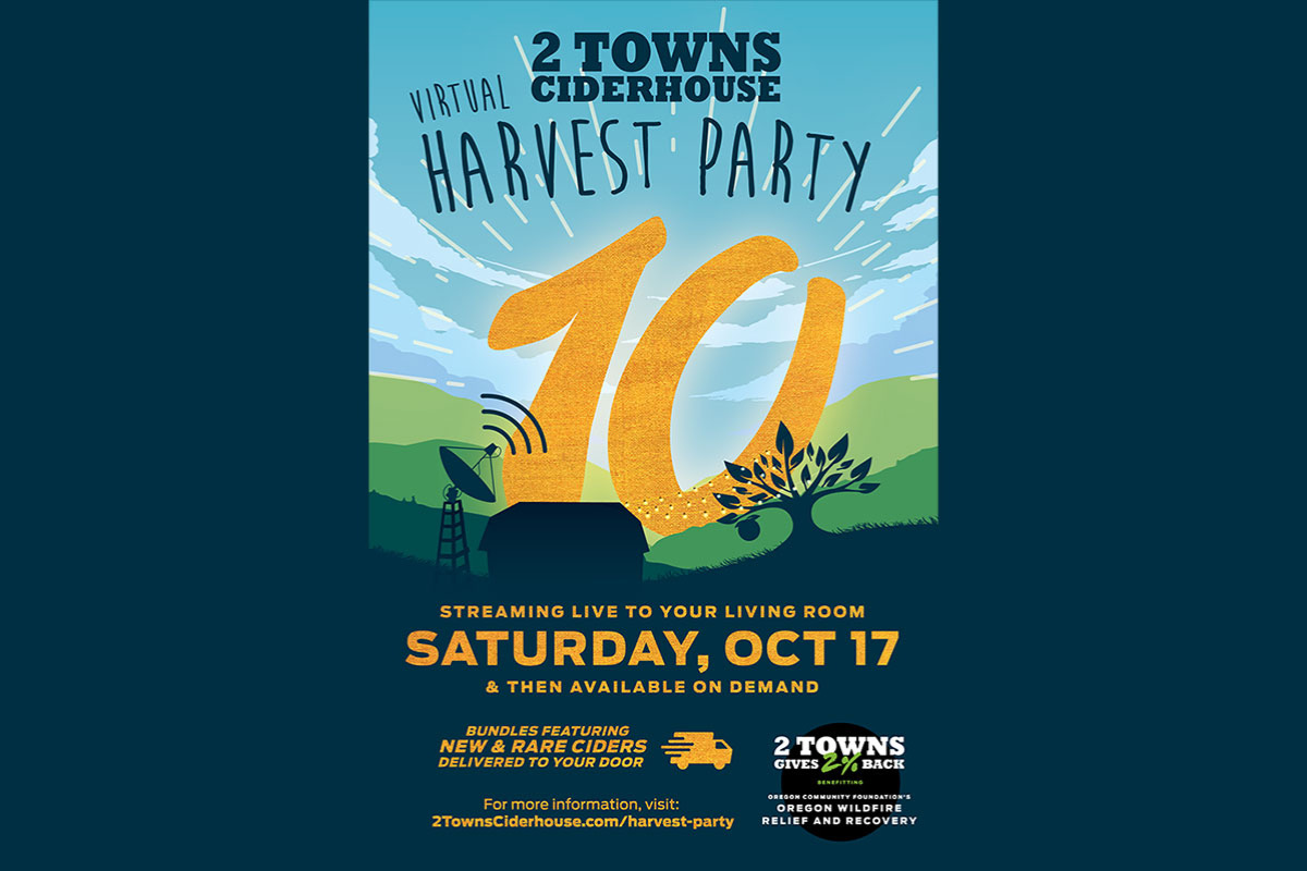 2 Towns Ciderhouse Annual Harvest Party