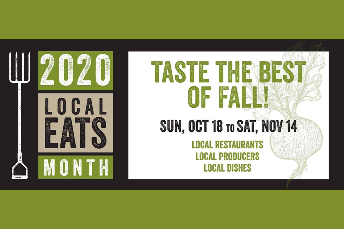Local Eats Month, Oct. 18-Nov. 14, 2020, in Corvallis, Oregon
