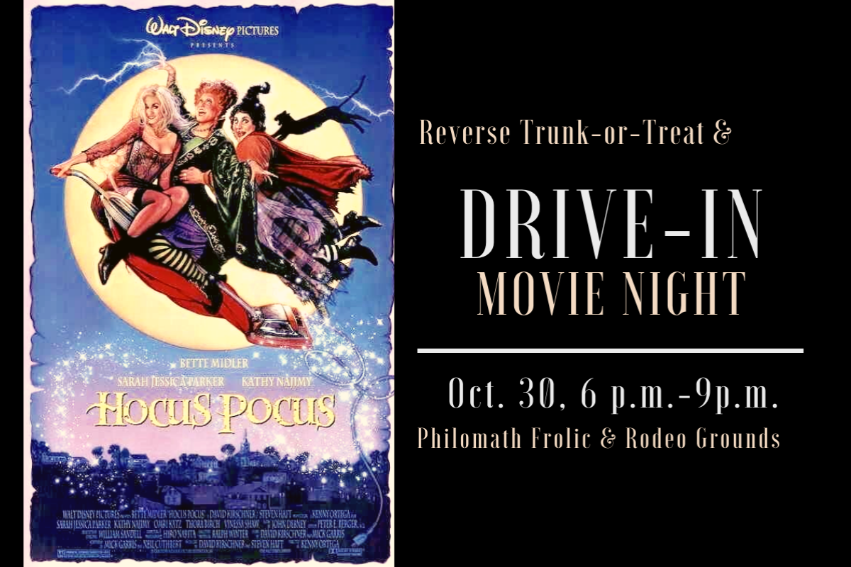 Reverse Trunk or Treat at the Drive-In in Philomath, Oregon