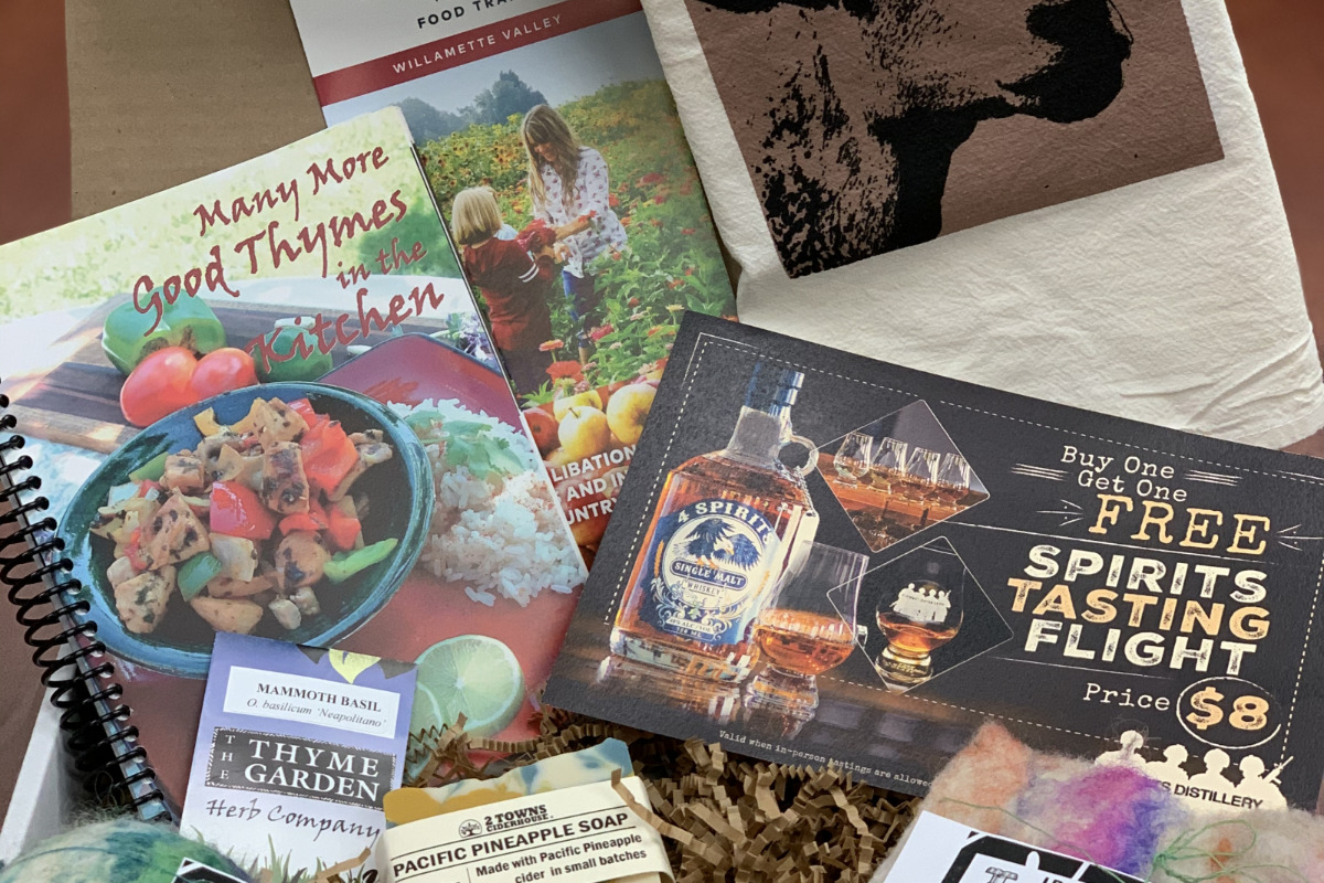 Mid-Willamette Valley Food Trail Gift Boxes