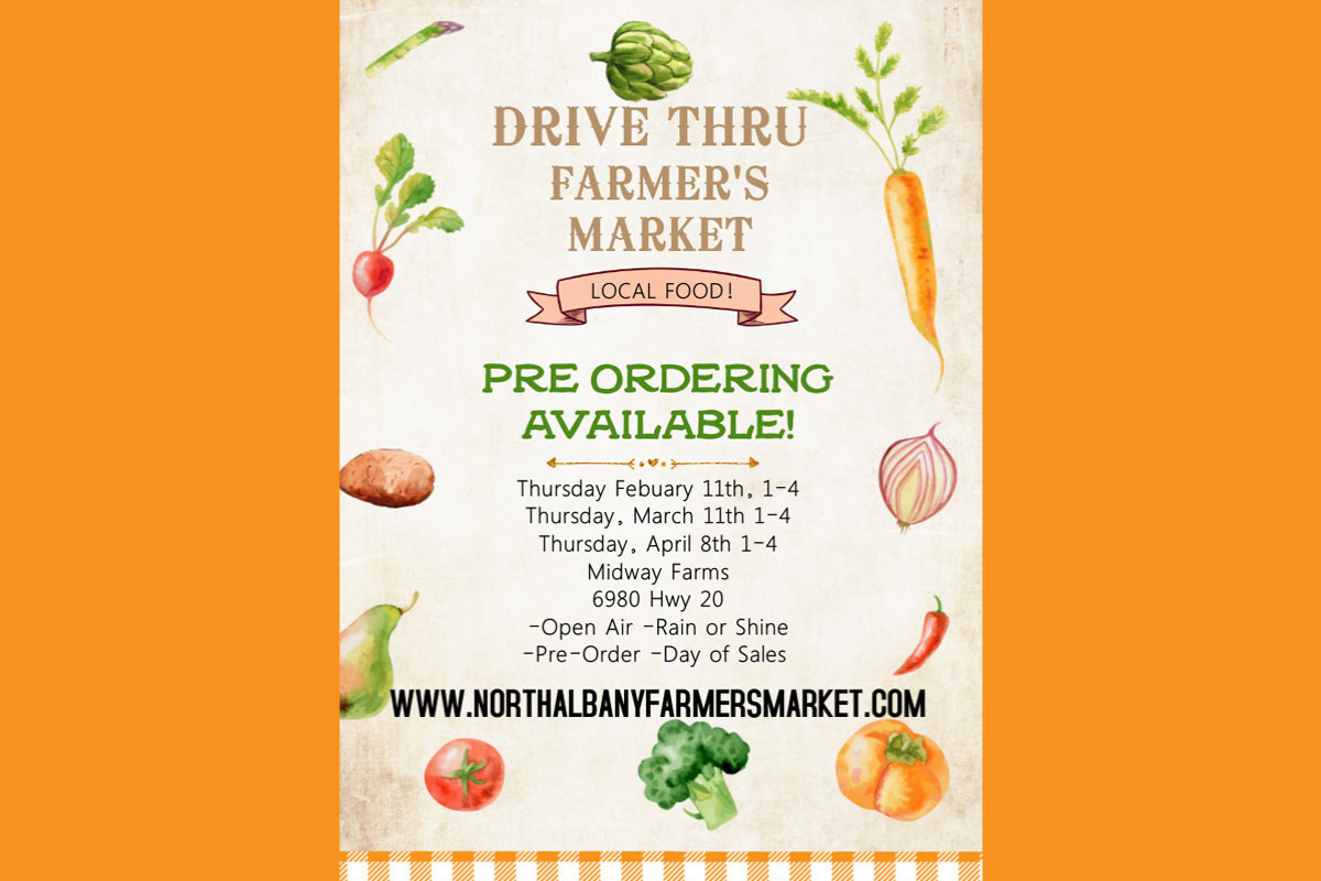 North Albany Farmer's Market, Midway Farms, Albany, OR