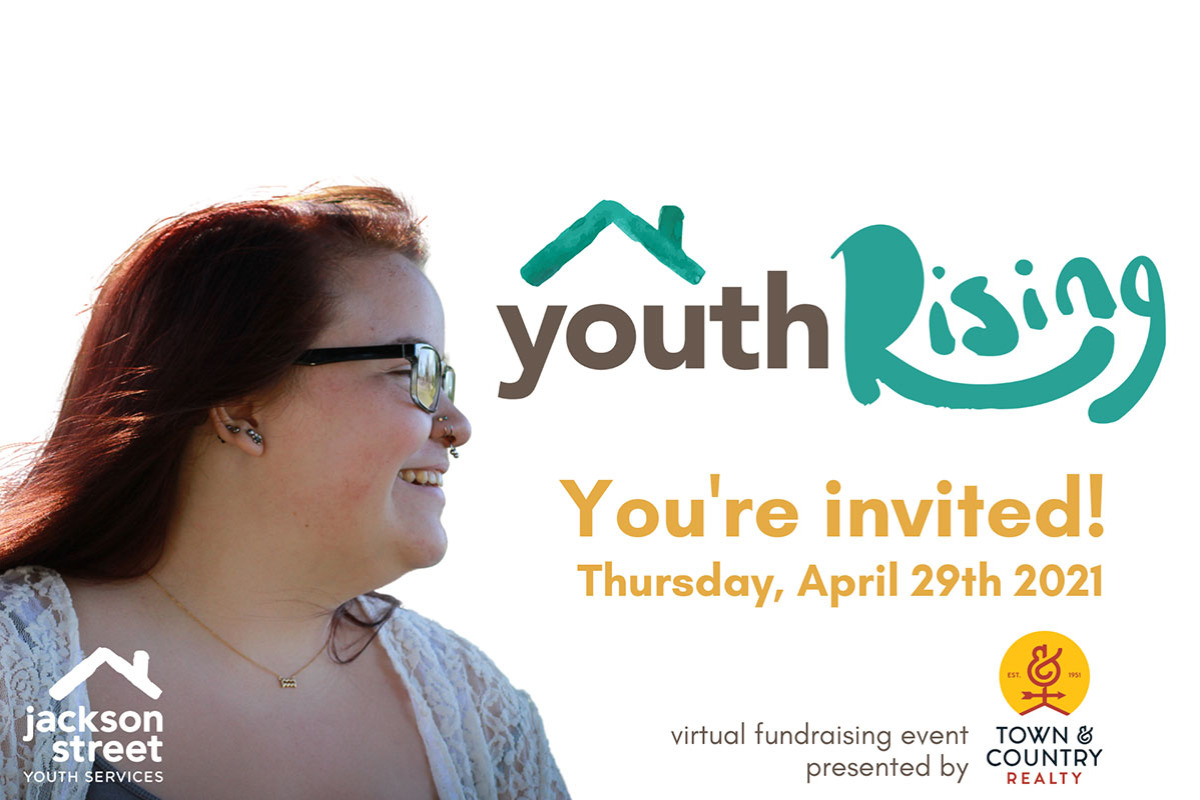 Youth Rising: Virtual Fundraiser to End Youth Homelessness