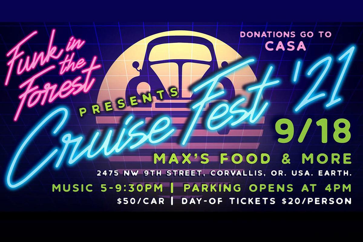 Cruise Fest, Max's Food & More, Corvallis, Oregon, Sept. 18, 2021