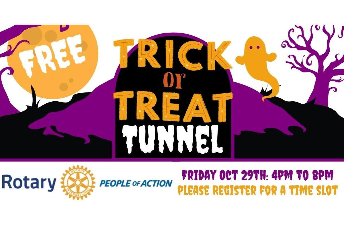 2021 Drive Thru Trick-Or-Treat Tunnel in Corvallis, Oregon