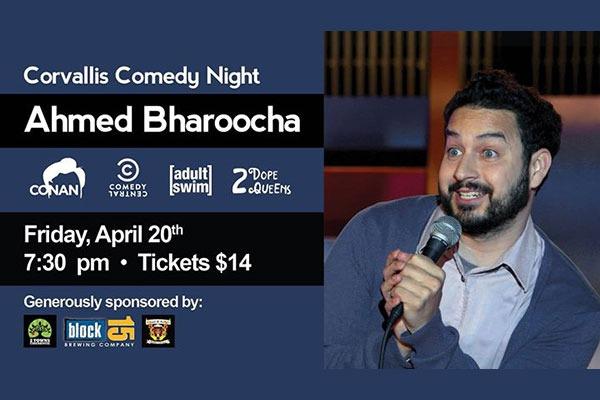 Corvallis Comedy Night: Ahmed Bharoocha