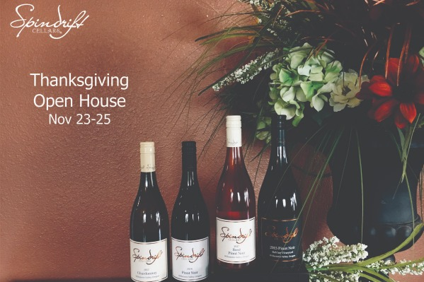 Thanksgiving Weekend Winery Open Houses: Spindrift Cellars