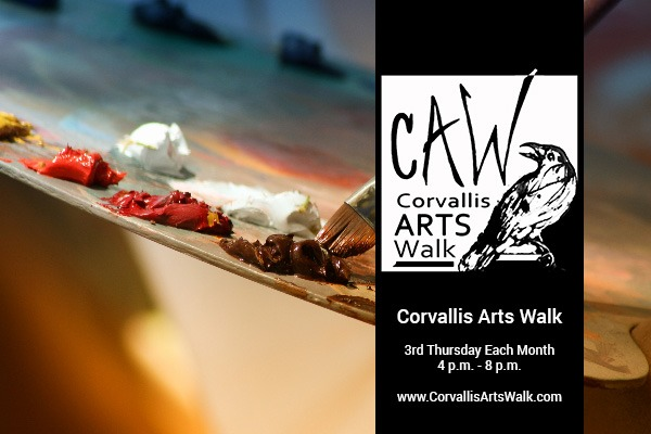 Corvallis Arts Walk in Downtown Corvallis, Oregon