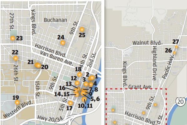 Corvallis Murals Map - Corvallis Gazette-Times