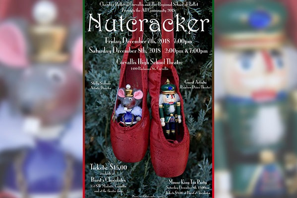 The Nutcracker by Regional School of Ballet at Corvallis High School in Corvallis, Oregon