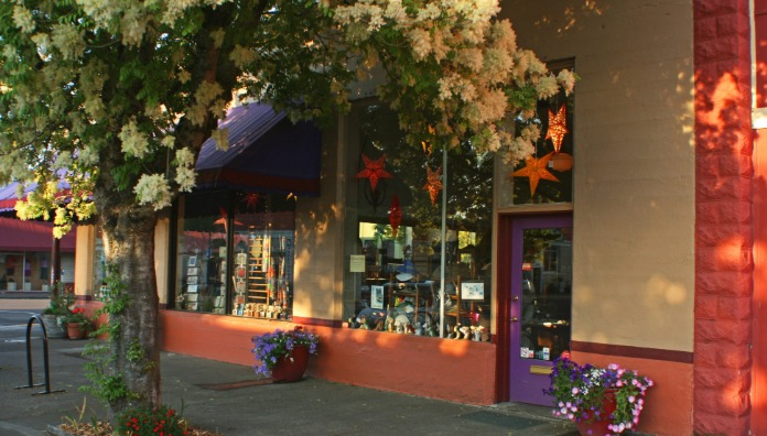 Downtown Corvallis, Oregon