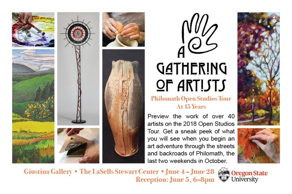A Gathering of Artists: Philomath Open Studios Tour at 15 Years