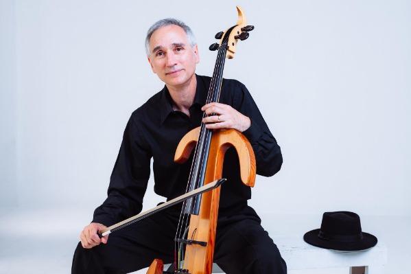 Gideon Freudmann: CelloBop at the Majestic Theatre in Corvallis, Oregon