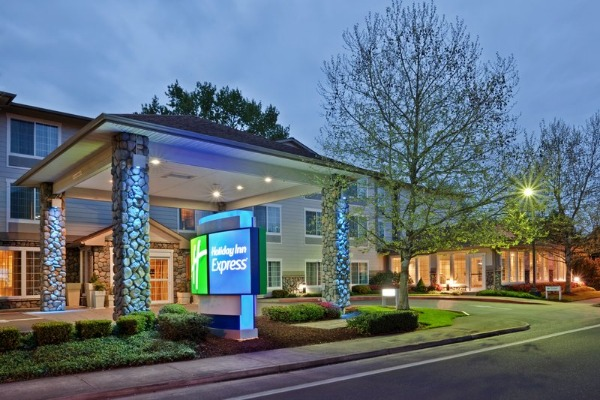 Holiday Inn Express on the River in Corvallis, Oregon