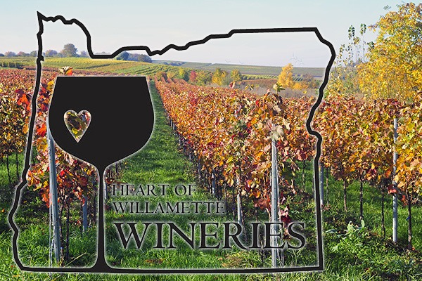 Heart of Willamette Wineries in Benton County, Oregon
