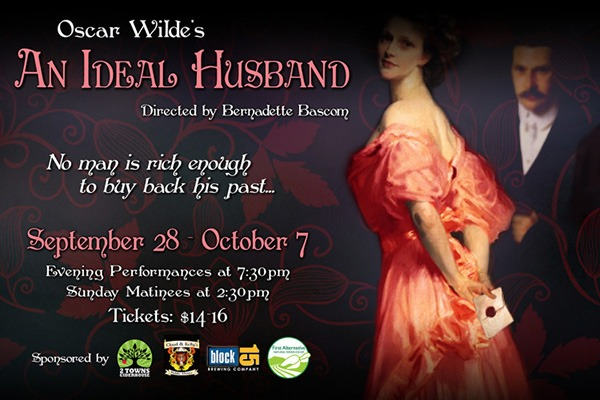 An Ideal Husband at the Majestic Theatre in Corvallis, Oregon