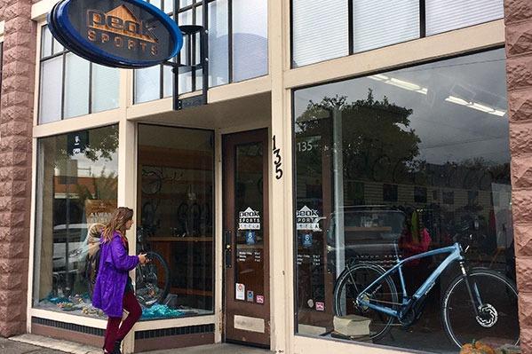 Peak Sports in Corvallis, Oregon, by Danielle Joy Jarkowsky