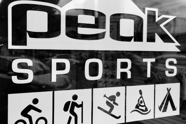 Peak Sports in Corvallis, Oregon, by Danielle Joy Jarkowsky