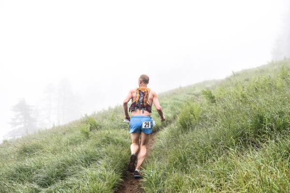 Marys Peak Trail Run in Blodgett, Oregon