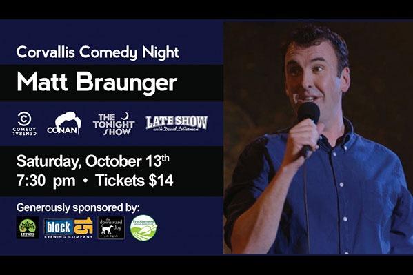 Corvallis Comedy Night: Matt Braunger