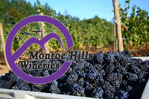 Monroe Hills Wineries in Benton County, Oregon